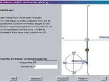 Bild einer graphischen Berechnung