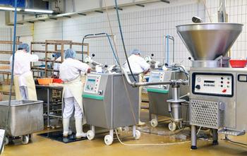 Zu sehen ist ein Bild einer Lebensmittelfabrik