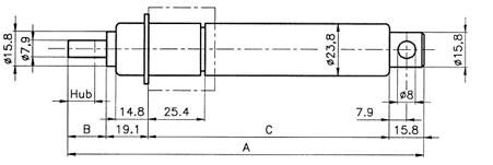 Zu sehen ist eine Abbildung einer Kineckeck Ölbremse