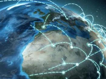 Bild eines Netzwerks