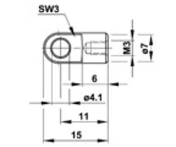 Zu sehen ist eine Abbildung mit einer CAD Zeichnung vom Auge-AGQ1