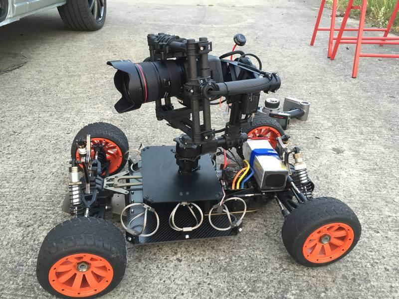 Zu sehen ist ein Bild einer Buggy-Cam